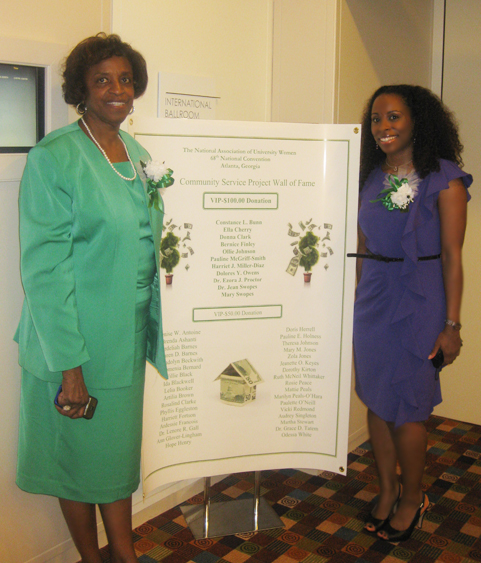 Donna Clark and Dr. Carla Stokes